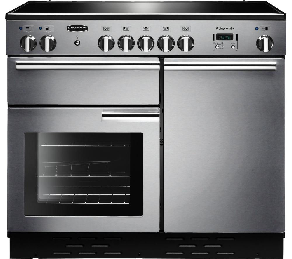 buy rangemaster professional 100 electric induction range. Black Bedroom Furniture Sets. Home Design Ideas