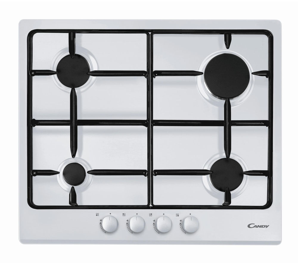 CANDY CPG64SPB Gas Hob - White