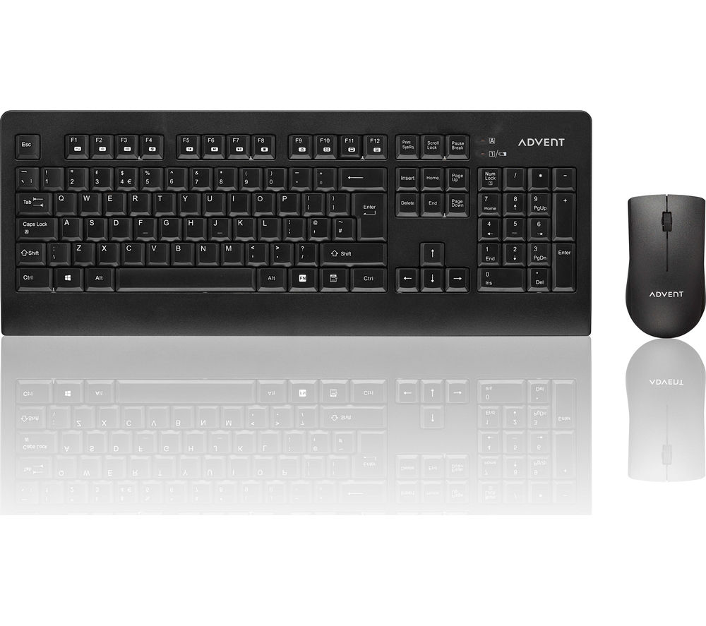Compare prices for Advent ADESKWL15 Wireless Keyboard and Mouse Set