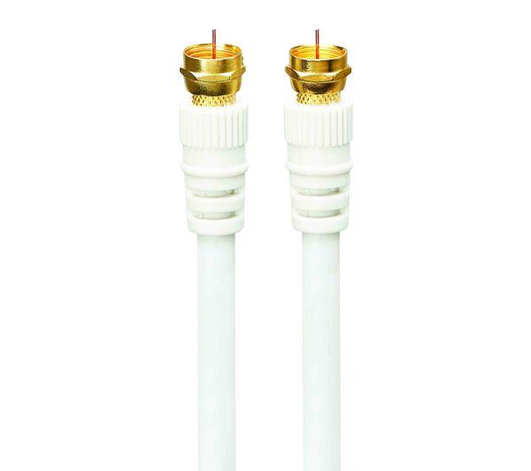Image of LOGIK Satellite F Plug Cable - 4 m