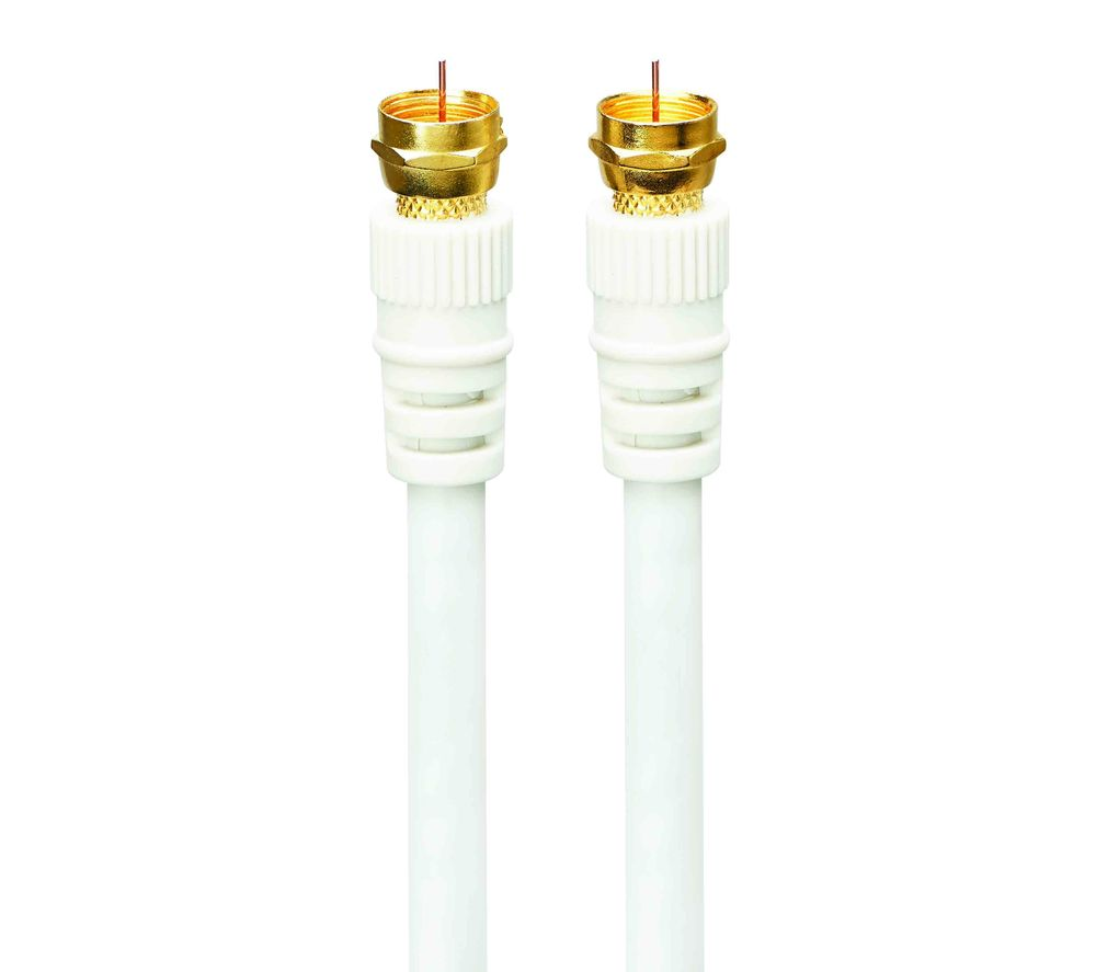 LOGIK Satellite F Plug Cable - 4 m