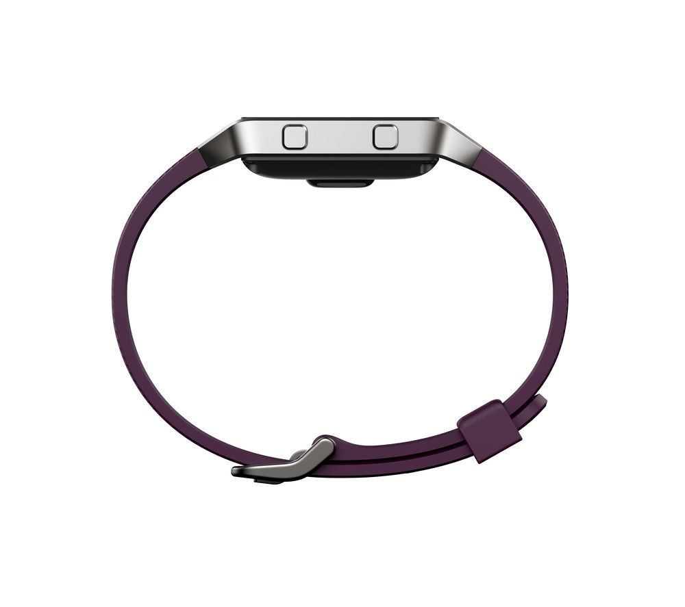 FITBIT Blaze Classic Accessory Band - Large, Plum