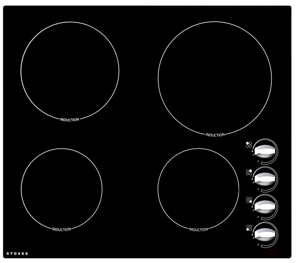STOVES  SEH600iR Induction Hob – Black, Black
