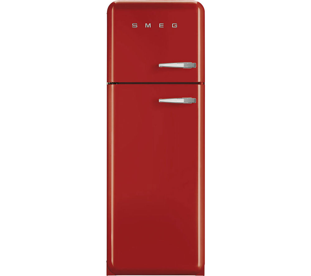 SMEG FAB30LFR 70/30 Fridge Freezer - Red