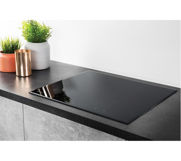 buy hotpoint cid740b electric induction hob black free delivery currys. Black Bedroom Furniture Sets. Home Design Ideas