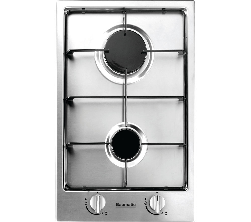 BAUMATIC BHG300.5SS Gas Hob - Stainless Steel
