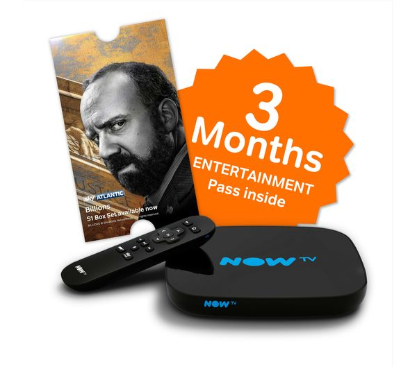 Image of NOW TV HD Smart TV Box with 3 month Entertainment Pass
