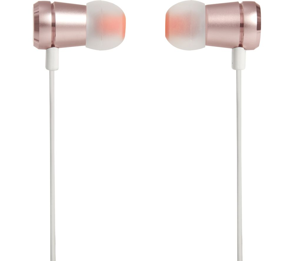 jbl headphones gold. jbl t290 headphones - rose gold jbl l
