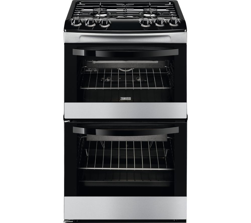 ZANUSSI ZCG43010XA 55 cm Gas Cooker - Stainless Steel