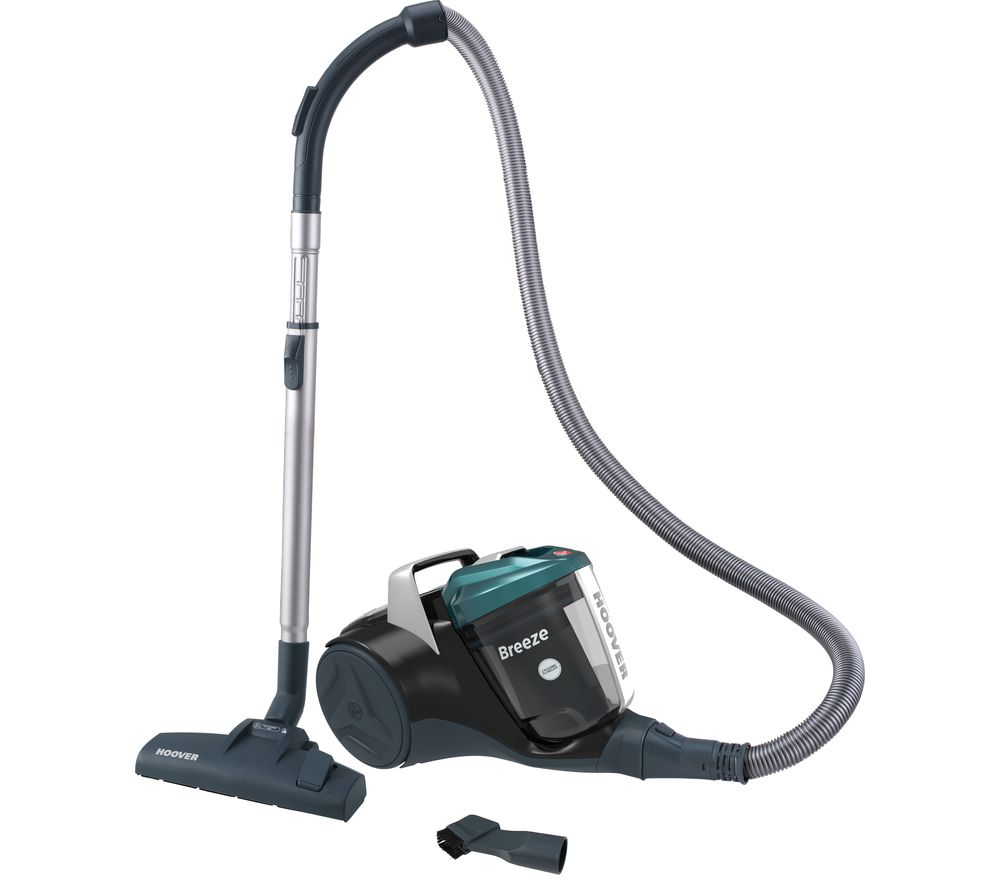 HOOVER Breeze BR71 BR01 Cylinder Bagless Vacuum Cleaner - Black & Green