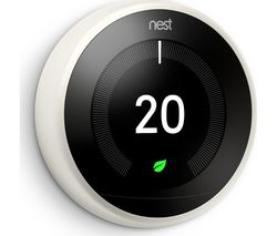 Nest Learning Thermostat - 3rd Generation, White