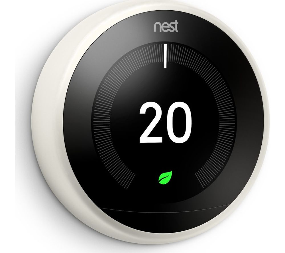 GOOGLE Nest Learning Thermostat - 3rd Generation, White
