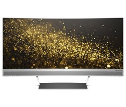 "HP ENVY 34 Quad HD 34"" Curved LED Monitor - Black & Silver"