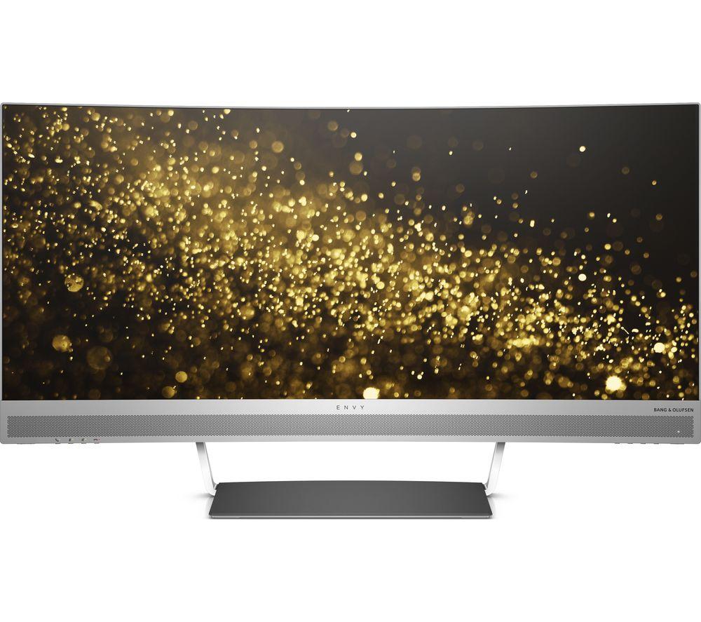 "HP ENVY 34 Quad HD 34"" Curved LED Monitor - Black & Silver"