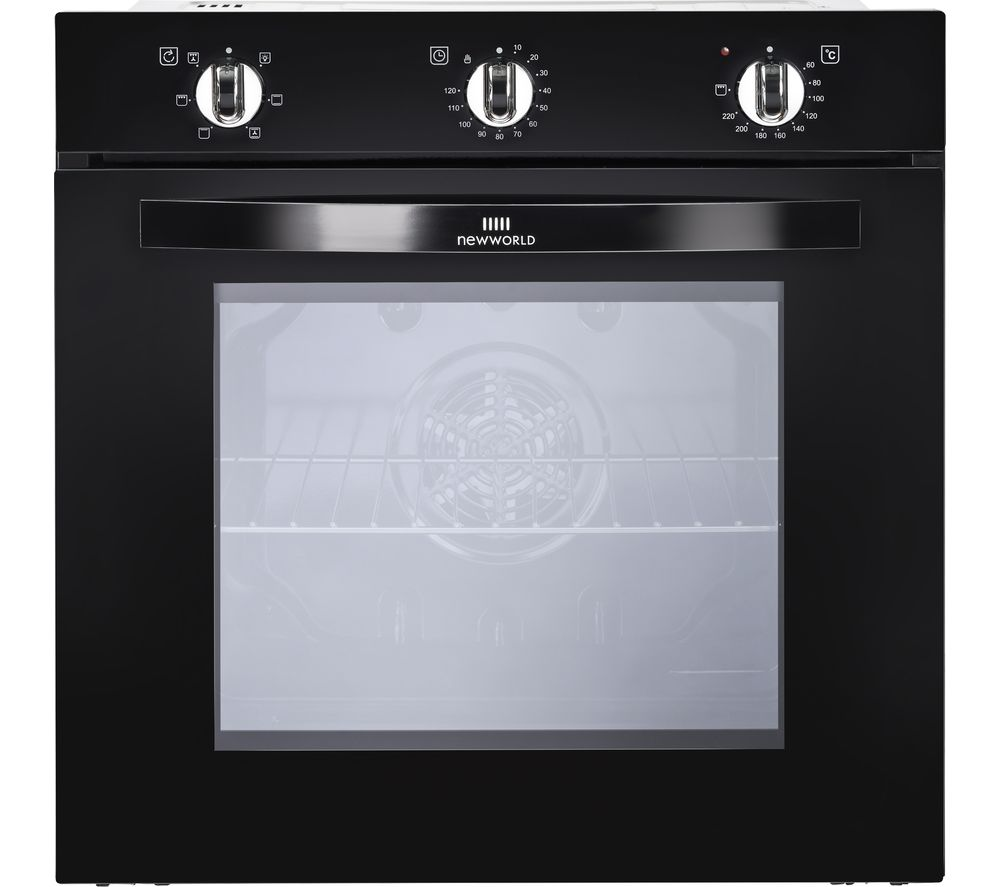New World Nw602f Blk Electric Oven Black