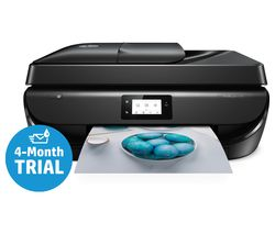 HP OfficeJet 5230 All-in-One Wireless Inkjet Printer with Fax