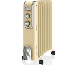 SWAN SH60010CN Portable Oil-Filled Radiator - Cream