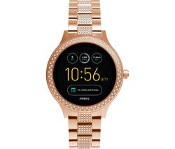 FOSSIL Q Venture Smartwatch - Rose Gold