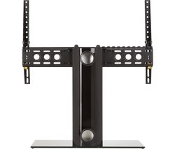 AVF B601BB 550 mm TV Stand with Bracket - Black