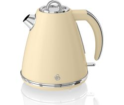 SWAN Retro SK19020CN Jug Kettle - Cream