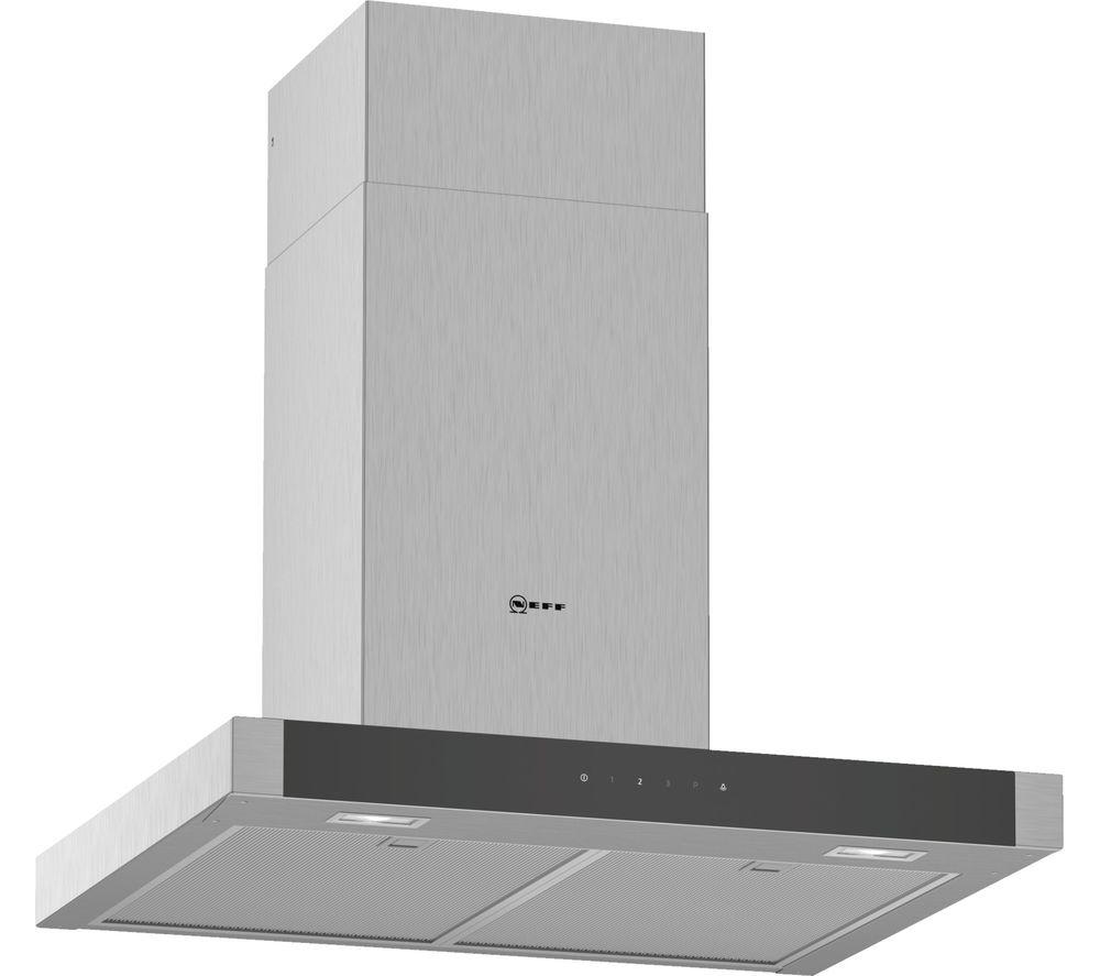 buy neff d64bhm1n0b chimney cooker hood stainless steel. Black Bedroom Furniture Sets. Home Design Ideas