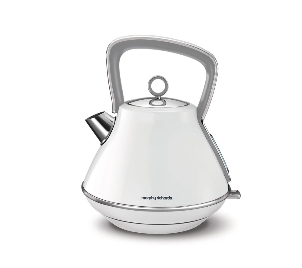MORPHY RICHARDS Evoke One Traditional Kettle - White
