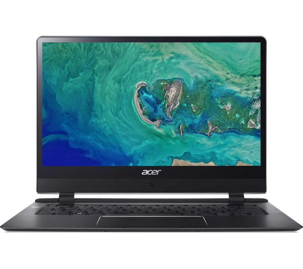 "Image of ACER Swift 7 SF714-51T 14"" Intel® Core? i7 Laptop - 256 GB SSD, Black, Black"