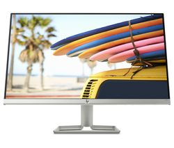 "HP 24fw 3KS62 Full HD 24"" IPS LCD Monitor - White"