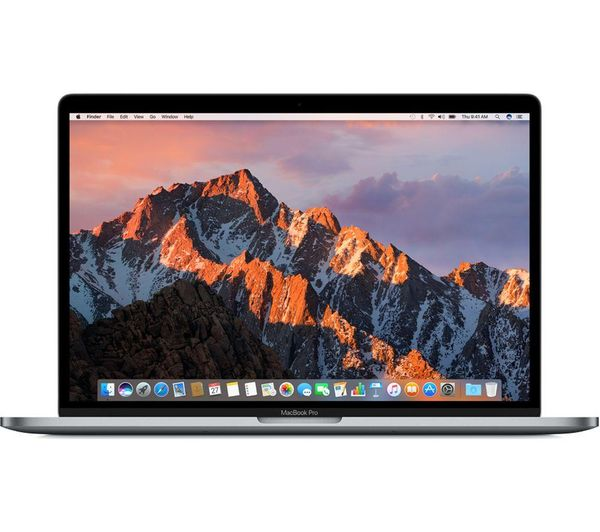 """Image of APPLE MacBook Pro 13"""" with Touch Bar - 256 GB SSD Silver (2018) plus APPLE USB Type-C Cable Triple Pack Bundle"""