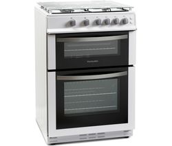 MONTPELLIER MDG600LW 60 cm Gas Cooker - White