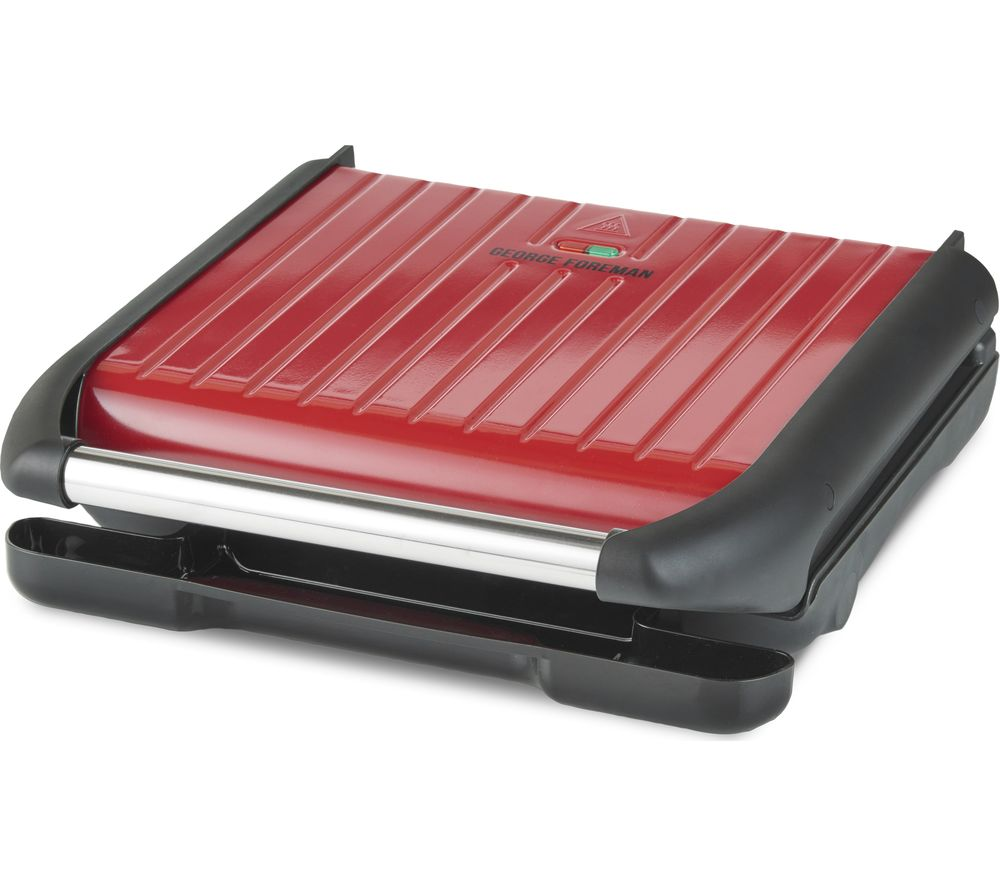 GEORGE FOREMAN 25050 Entertaining Grill - Red, Red