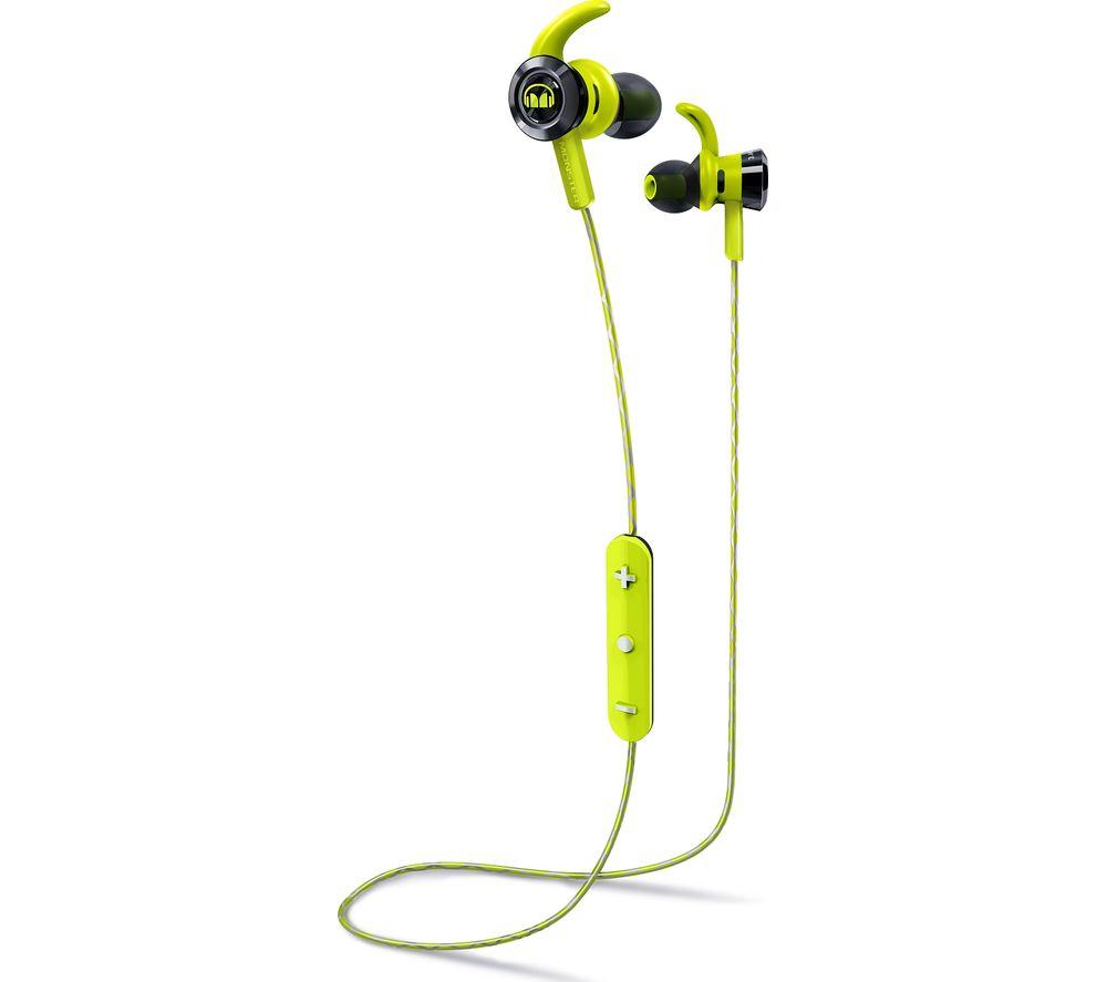 MONSTER iSport Victory Wireless Bluetooth Headphones - Green