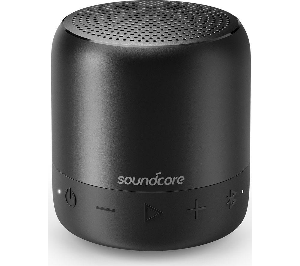 Image of SOUNDCORE Mini 2 Portable Bluetooth Speaker - Black, Black