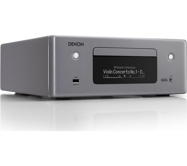 DENON CEOL N10 Wireless Smart Sound Hi-Fi System - Grey