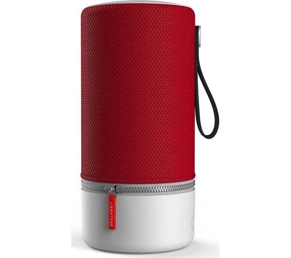 Image of LIBRATONE ZIPP 2 Portable Wireless Voice Controlled Speaker - Red