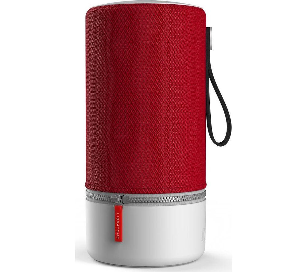 LIBRATONE ZIPP 2 Portable Wireless Speaker with Amazon Alexa - Red