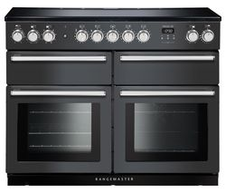 Nexus SE NEXSE110EISL/C 110 cm Electric Induction Range Cooker - Slate & Chrome