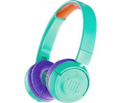 JBL JR300BT Wireless Bluetooth Kids Headphones - Teal