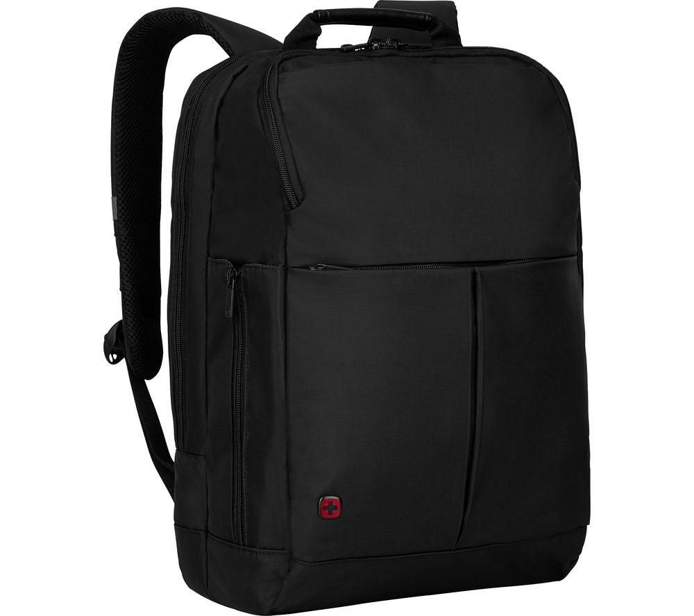 """WENGER Reload 16"""" Laptop Backpack - Black"""