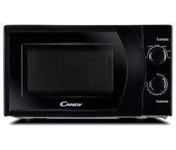 CANDY CMW 2070B-UK Compact Solo Microwave - Black