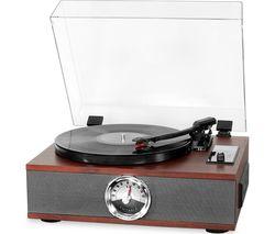 Park Avenue VTA-60-SEP-EU 5-in-1 Bluetooth Music Centre - Mahogany
