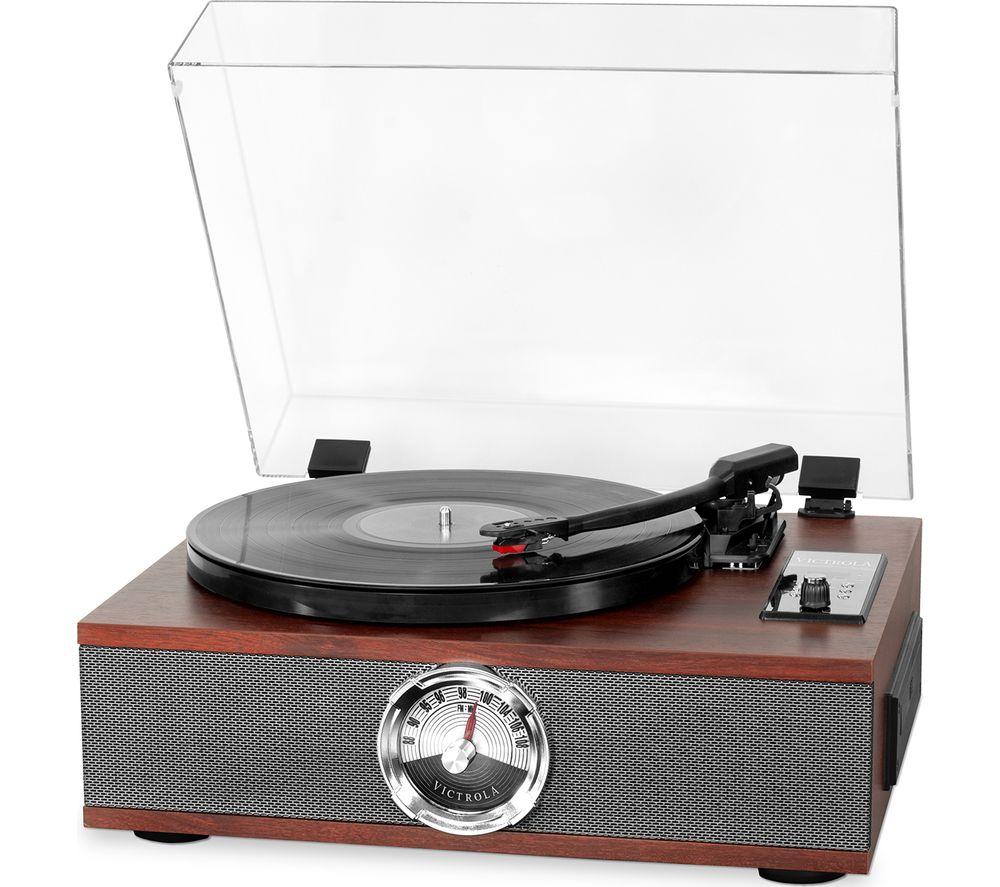VICTROLA Park Avenue VTA-60-SEP-EU 5-in-1 Bluetooth Music Centre - Mahogany