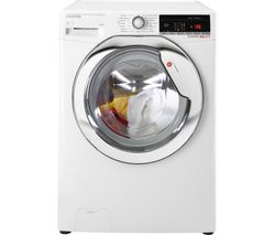 HOOVER Dynamic WDWOAD 4106AHC WiFi-enabled 10 kg Washer Dryer - White