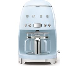 50's Retro DCF02PBUK Filter Coffee Machine - Pastel Blue