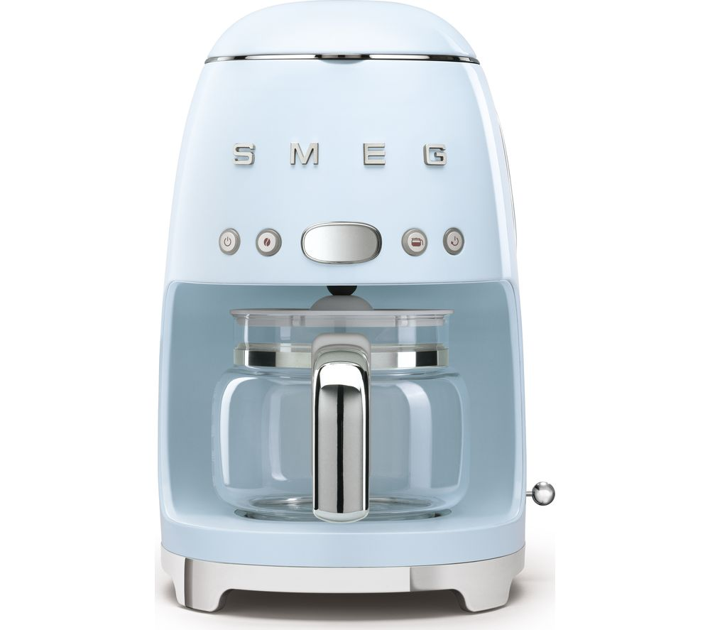 SMEG 50's Retro DCF02PBUK Filter Coffee Machine - Pastel Blue