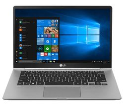 "LG GRAM 14Z990 14"" Intel® Core™ i5 Laptop - 256 GB SSD, Silver"