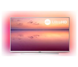 "PHILIPS Ambilight 43PUS6814/12 43"" Smart 4K Ultra HD HDR LED TV with Amazon Alexa"