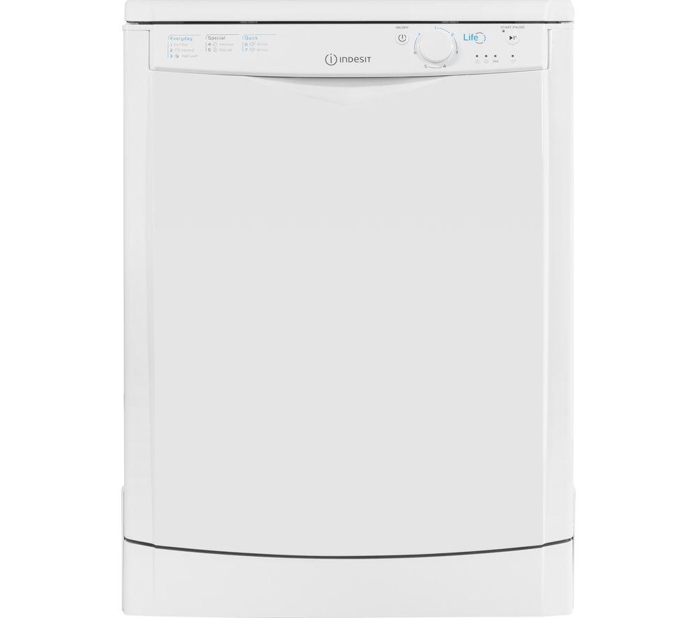 Image of DFG15B1.1 Full-size Dishwasher - White, White