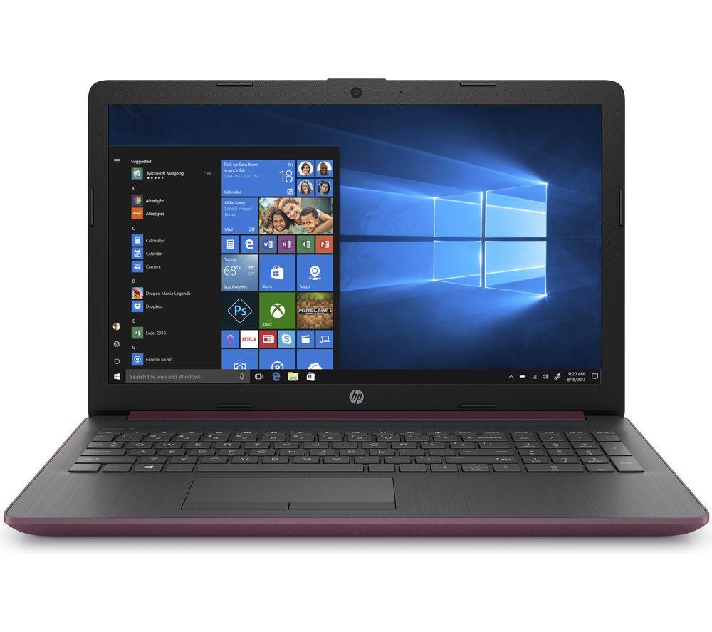 "HP 15-db0500sa 15.6""AMD A6 Laptop - 1 TB HDD, Mauve"