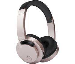 GROOV-E Fusion GV-BT400-GD Wireless Bluetooth Headphones - Gold